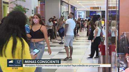 Ministério Público recomenda adesão de BH ao Minas Consciente