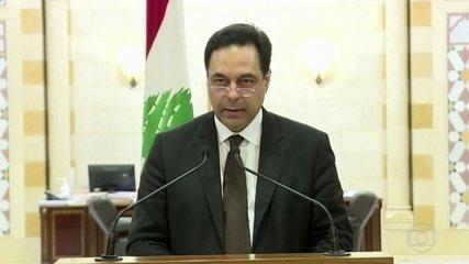Primeiro-ministro do Líbano renuncia após onda de protestos