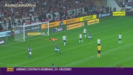 Grêmio contrata Robinho, ex-jogador do Cruzeiro