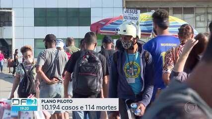 DF bate recorde e registra 53 novas mortes em 24 horas
