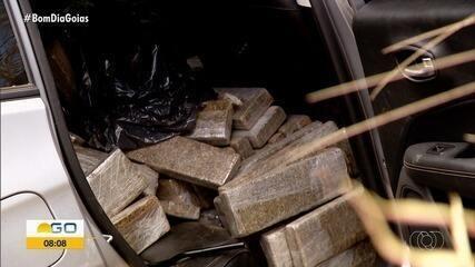 Motorista com quase 500 kg de drogas realiza fuga cinematográfica em Rio Verde