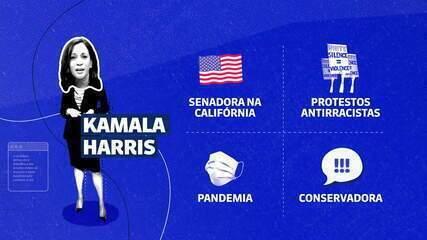 Kamala Harris: esquerda moderada, apoiadora de protestos antirracistas e pró-ciência