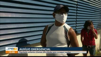 População enfrenta diversas dificuldades para conseguir receber auxílio emergencial
