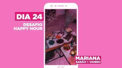 Mariana Peixoto da dica para curtir happy hour com os amigos
