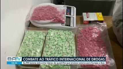 Operação da PF e Interpol desarticula combate ao tráfico internacional de drogas