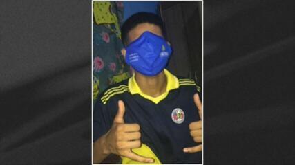 Em Manaus, máscara gigante distribuída a alunos vira meme