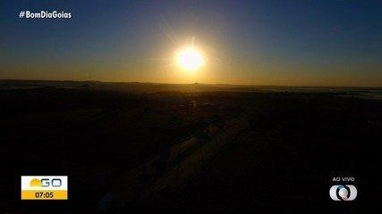 Dia de muito sol e calor: veja como fica o tempo em Goiás