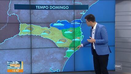 Confira a previsão do tempo em Santa Catarina neste sábado