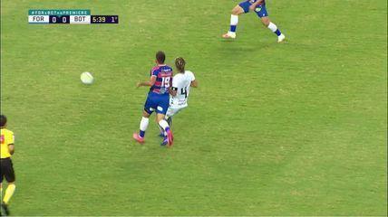 Melhores momentos: Fortaleza 0 x 0 Botafogo pela 3ª rodada do Brasileirão 2020