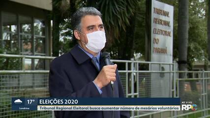 Mesários serão convocados para atuar nas eleições deste ano no Paraná a partir de terça-feira (18)