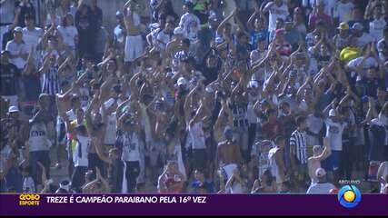Treze perde do Campinense, mas garante título do Campeonato Paraibano 2020