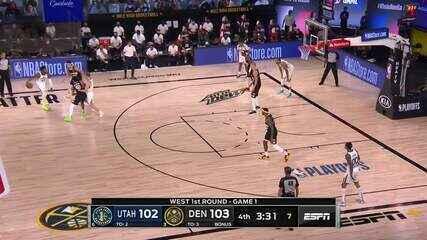 Melhores momentos: Denver Nuggets 135 x 125 Utah Jazz, pela NBA