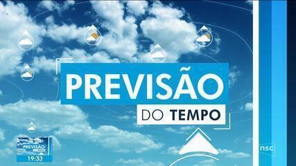 Veja como fica o tempo em Santa Catarina