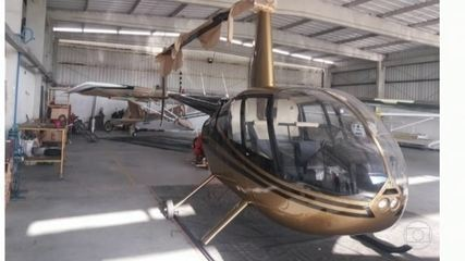 Helicópteros são apreendidos em operação contra tráfico internacional de drogas