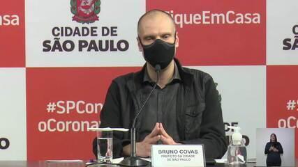 Aulas não serão retomadas em setembro na cidade de São Paulo, determina Bruno Covas