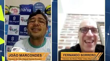 Ex-seleção argentina, Fernando Borrero revela importância de Suzano para a carreira
