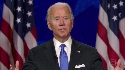 Joe Biden é oficialmente o candidato Democrata à presidência dos EUA