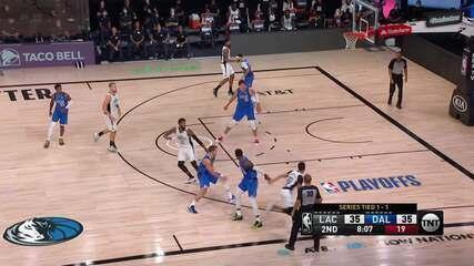 Melhores momentos: Dallas Mavericks 122 x 130 Los Angeles Clippers pela NBA