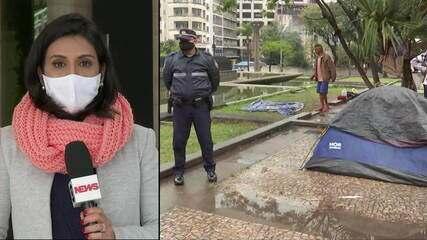 Duas pessoas em situação de rua foram encontradas mortas em São Paulo