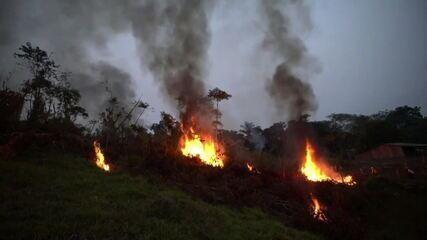Nasa: maioria das queimadas na Amazônia tem origem no desmatamento