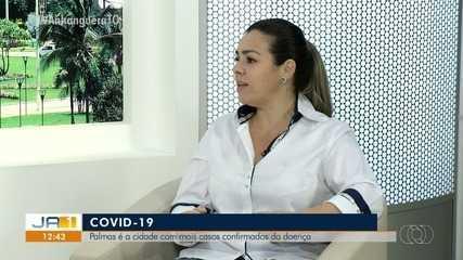 Prefeita Cinthia responde dúvidas dos palmenses sobe a saúde na capital