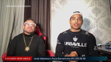 Postulante ao título dos médios do UFC, Paulo Borrachinha fala sobre treinamento com Henry Cejudo e projeta luta contra Adesanya