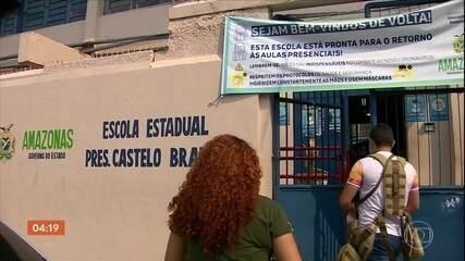Várias escolas da rede pública de Manaus não têm estrutura para prevenir a Covid-19