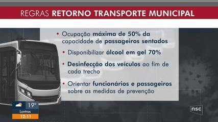 Governo do estado autorizou a retomada do transporte intermunicipal