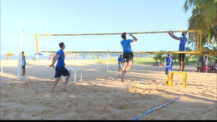 Confira como está a nova rotina de treinos de vôlei de praia em João Pessoa