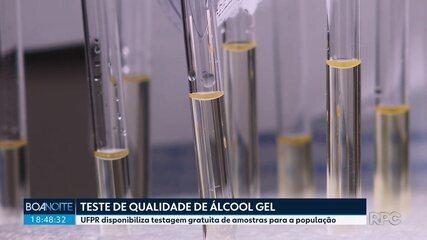 UFPR oferece teste gratuito de qualidade de álcool gel