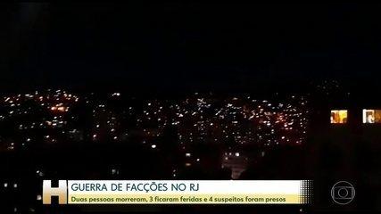Guerra do tráfico no Rio tem invasão, tiroteios, sequestro e vítimas