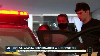 Pastor Everaldo é levado para a sede da Polícia Federal