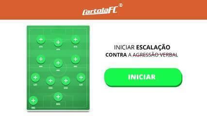 Influenciadores criam campanha para cartoleiros não perturbarem jogadores