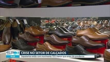 Estado de São Paulo foi o mais afetado pela crise no setor de calçados