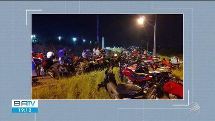 Mais de 120 motos são apreendidas fazendo 'racha' durante operação em Feira  de Santana | Bahia | G1