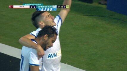 Melhores momentos: Oeste 0 x 2 Avaí pela 6ª rodada do Campeonato Brasileiro Série B