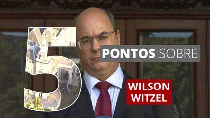 5 pontos para entender a trajetória de Wilson Witzel no governo do RJ