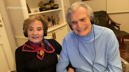 Glória Menezes se declara para Tarcísio Meira