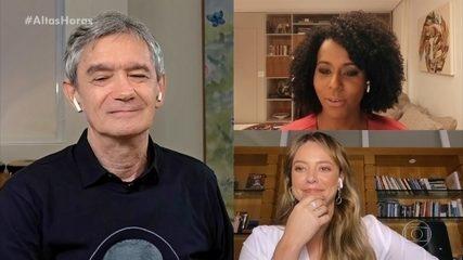 Paolla Oliveira e Maju Coutinho falam sobre o sotaque paulista