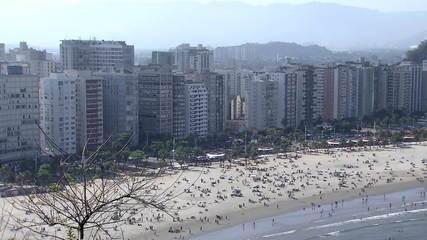 SP tem final de semana de aglomeração no litoral e interior