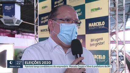 Patriota lança candidatura do empresário Marcelo Souza e Silva à prefeitura de BH