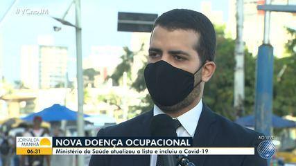 Advogado explica o que muda com a inclusão da Covid-19 na lista de doenças ocupacionais