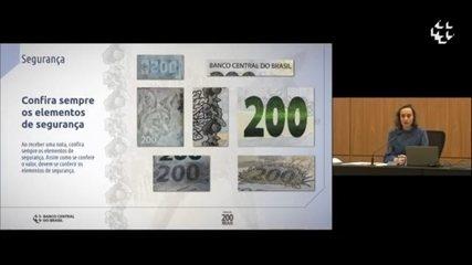 Veja os elementos de segurança da nova nota de R$ 200