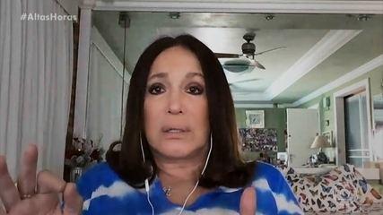 Susana Vieira fala sobre tratamento de leucemia