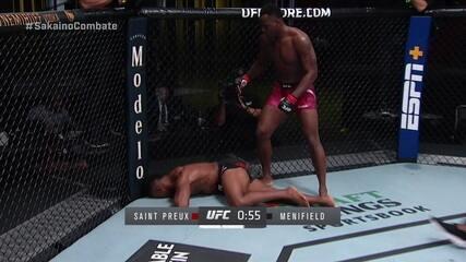 Melhores momentos: Ovince St. Preux x Alonzo Menifield, por UFC Overeem x Sakai