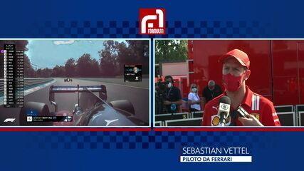 Vettel explica problema com freios que o tirou do GP da Itália
