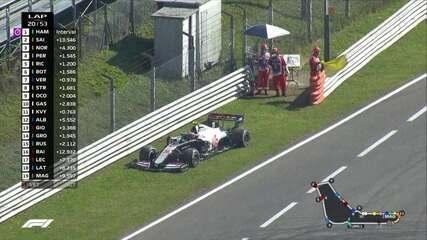 GP da Itália: Magnussen abandona a prova