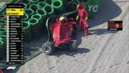 GP da Itália: Leclerc bate forte