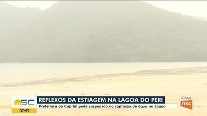 Prefeitura pede suspensão na captação de água na Lagoa do Peri, em Florianópolis