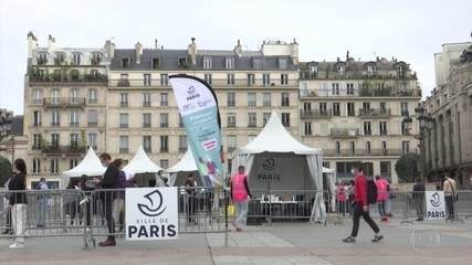 França registra alta nas internações em UTI